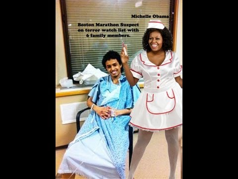 Why Did Michelle Hussein Obama Visit a Boston Marathon Bombing Suspect in the Hospital?