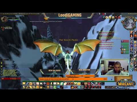 Loodi GAMING World of Warcraft: Wrath of The Lich King live!