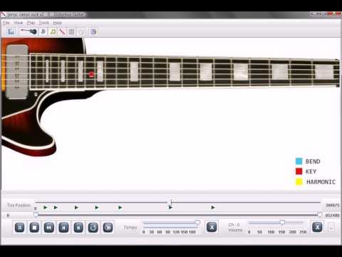 Canon Rock Guitar Lesson Software