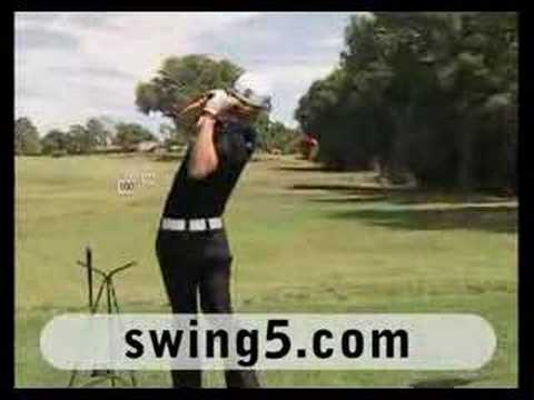 Camilo Villegas demonstrates the Medicus Power Maximus, a hittable weight swing trainer. http://www.drivethemax.com.