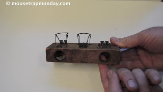 Antique Choker Mousetrap Hat Trick. 3 Mice in 1 Night with the Easy Setting Choker Trap.