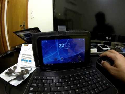 Tablet GENESIS GT-7305 REVIEW 2/2 [BR] (Teste Jogos / OTG / TV Digital / 3G Dongle)