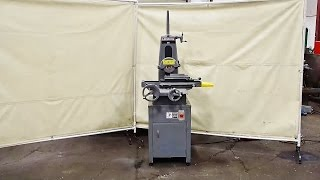 "HARIG 3 HP 6"" x 12"" Surface Grinder Model 612"