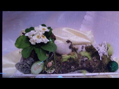 DIY: FRÜHLINGS DEKO ,Tisch-Garten Deko selber machen, DIY kekaplauderei