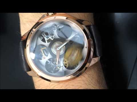 ArtyA Son of a Gun Russian Roulette Watch With Magnum Bullet Hands-On | aBlogtoWatch