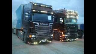 Scania R730 VS Actros MP4 Tuning