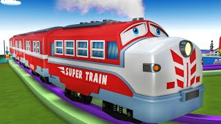 Cartoon Videos for Kids - Toy Factory Cartoon Train Videos for Kids - Chu Chu Train