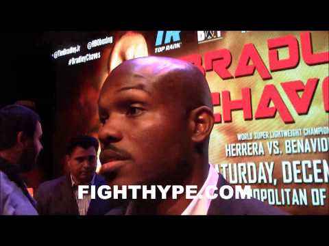 TIMOTHY BRADLEY PRAISES MAURICIO HERRERA AS THE TRICKIEST FIGHTER HE EVER FACED