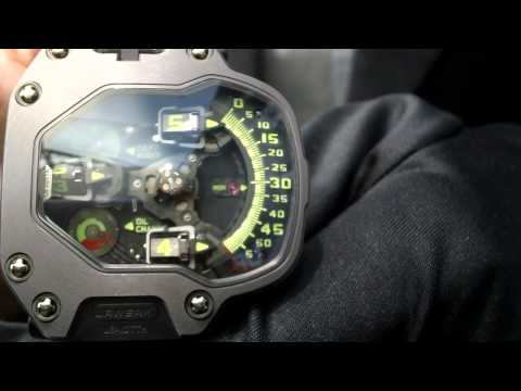 Haute Time Presents: Martin Frei Of Urwerk Watches At Basel World