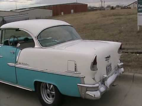 1955 Chevy Belair  Old Hotrod from the past