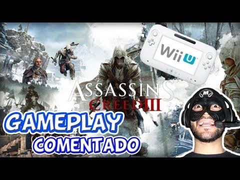 Assassin\'s Creed 3 Wii U / Gameplay Comentado