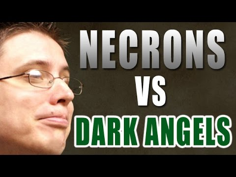 Necrons vs Dark Angels Warhammer 40k Battle Report - Beat Matt Batrep Ep 87