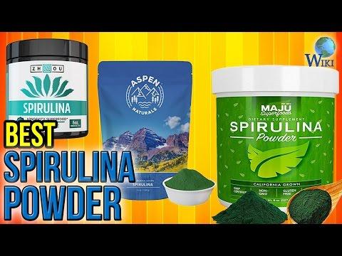 10 Best Spirulina Powders 2017
