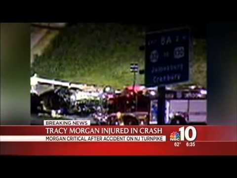 Tracy Morgan Fatal Car Crash Video (Caugh On Tape)