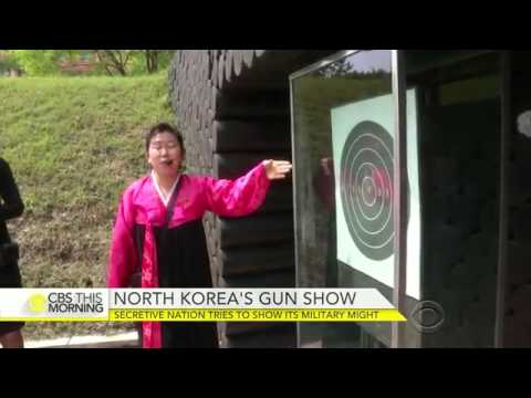 North Korea Tries To Show Its Military Might