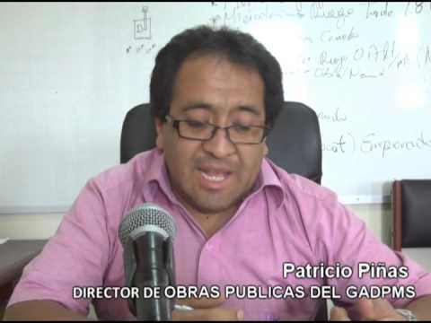 Gad Morona Santiago continúa los trabajos de asfaltado en las calles de Macas