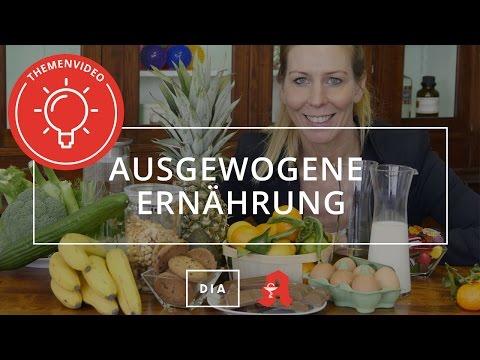 Ausgewogene Ernährung - Kurz & knackig erklärt Deutsche Internet Apotheke