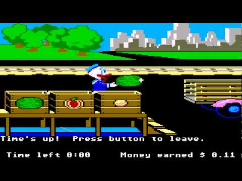 ATARI ST Donald Duck's Playground