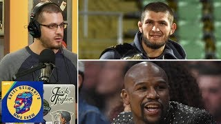 Khabib Nurmagomedov vs Floyd Mayweather makes no sense   Ariel Helwani's MMA Post-Show: Episode 17