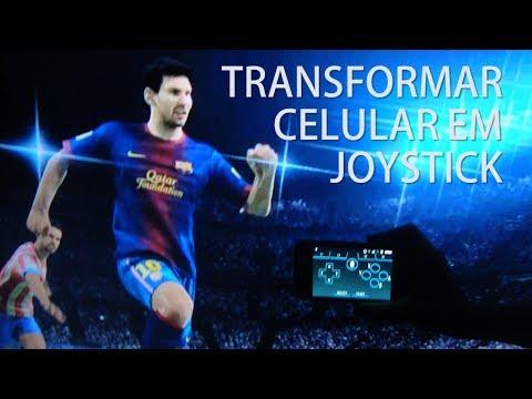 Como transformar o celular em um joystick