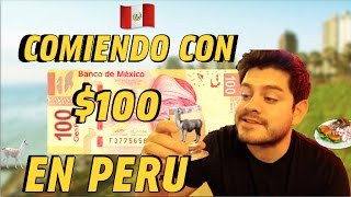 ● 1 DIA COMIENDO con SOLO $100 en PERU   Benshorts
