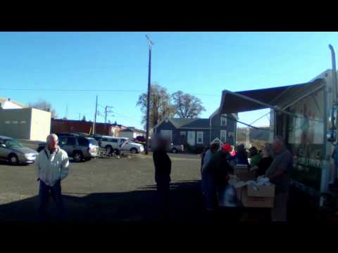 2nd Harvest Mobile Food Bank 2013 Pomeroy WA