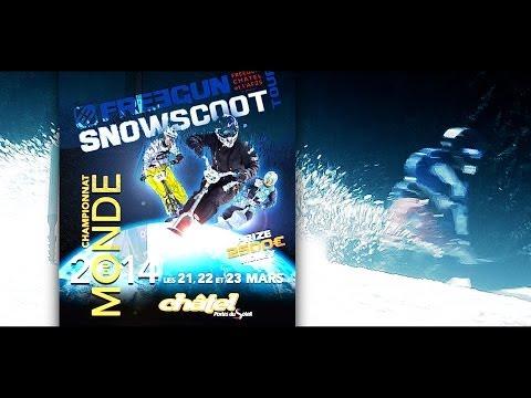 Championnat du Monde de Snowscoot à Châtel