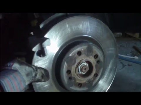 Mercedes ML350 Brake Job