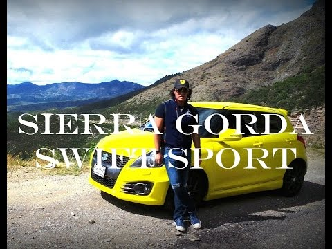 Suzuki Swift Sport Onboard | Sierra Gorda | Mexico