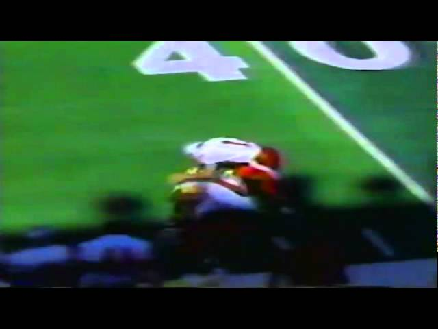 Oregon WR Ronnie Harris long punt return vs. UNLV 9-26-1992