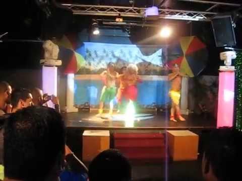 Natalie Carrera Performing Shakira waka Waka Production At Lauras In Nj video