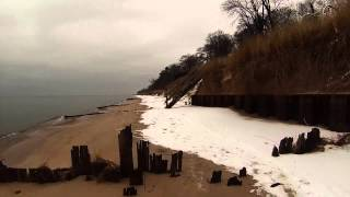 Lake Michigan Beach Fat Tire Bike Ride
