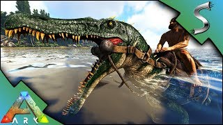 BARYONYX TAMING! BREEDING & IMPRINTING! BABY BARY! TAIL STUN ATTACK! - Ark: Survival Evolved [S3E46]