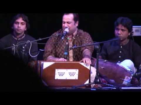 Rahat Fateh Ali Khan Live In Manchester Singing Wohi Khuda Hay...