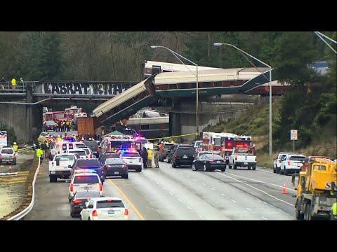 Crews Begin Recovery After Amtrak Derailment