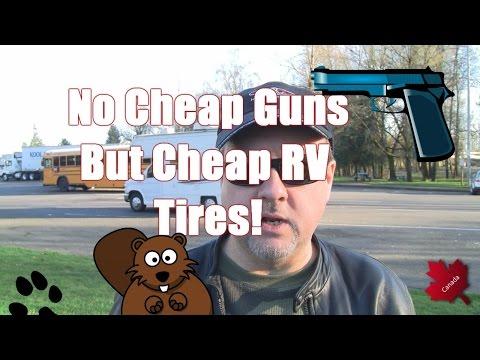 Oregon:  No Cheap Handguns BUT Cheap RV Tires Tax Free!