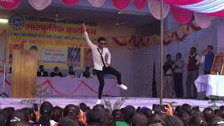 Amazing dance perfomance by lokesh  on the occasion of annual function  at govt pg college karauli