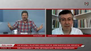 CHP İstanbul Milletvekili Adayı Prof.Dr. Emre Bağce ile özel röportaj