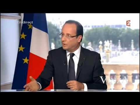 image vidéo François Hollande ridiculisé dans une parodie !