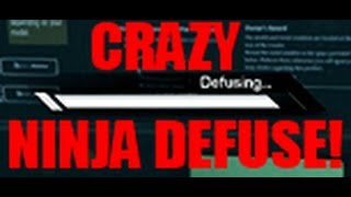 """""""CRAZY NINJA DEFUSE TO WIN""""!!! - """"COD Ghosts 1v1 $5 UMG Wager Match"""""""