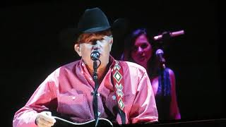 George Strait Every Little Honky Tonk Bar Sat Night 2018 Las Vegas Nv T Mobile Arena