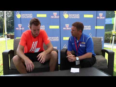 2014 Jack Sock 04/25 Post-Match Interview