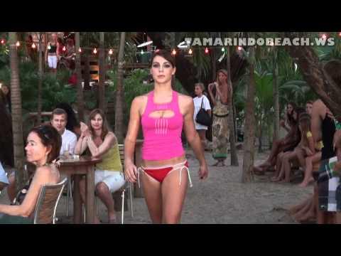 Swimsuit Beach Girls Fashion Show | Tamarindo Costa Rica