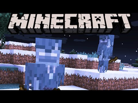 Minecraft 1.10 News: Spooky Snowy Skeletons! New Mob, White-Eyed Wight Icy Variation? 1.9.3 Snapshot