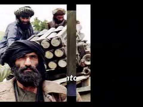 Afghan National Anthem - Hamid Karzai Taliban Hekmatyar