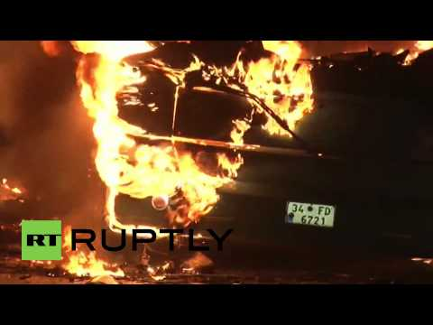 Turkey: Istanbul hazard zone on flames again after protest