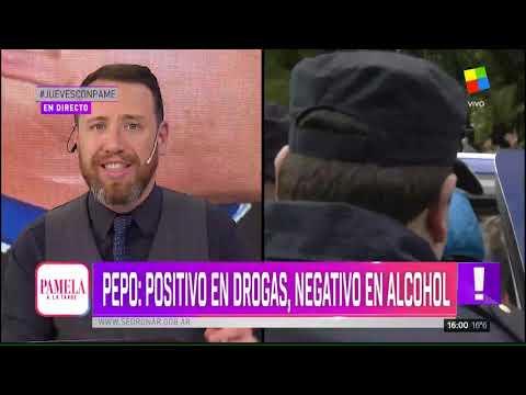Pepo: positivo en drogas, negativo en alcohol.