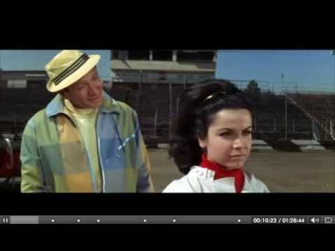 Annette Gets Hot & Bothered Arguing with Dare-Devil Crew at a Demolition Derby Carivale Show Video