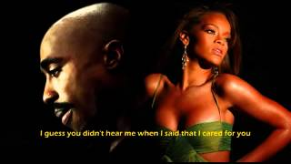2Pac & Rihanna   Love The Way You Lie KreZmix + Subs)