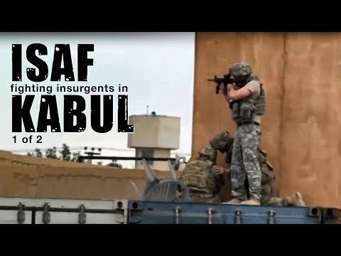 NATO in Afghanistan - ISAF fighting insurgents in Kabul (1/2)